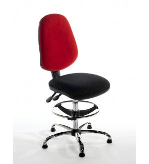 Chrome Draughtsman Chairs