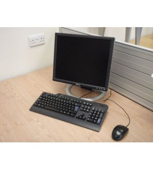 Computer Screen Keyboard and Mouse