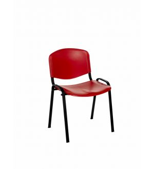 Flipper Chair with Red Molded