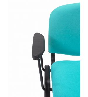 Flipper Chair with Blue Molded