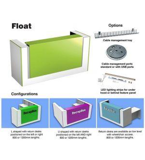 Floating Reception Desk