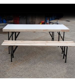 Folding Table and Benches