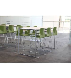Four Standing High Tables