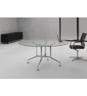 Ensa Glass Boardroom Table