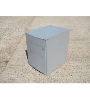 Grey Mobile Pedestal