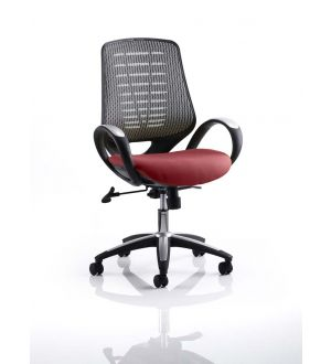 Sprint Bespoke Colour Task Operator Chair Airmesh Back with Arms