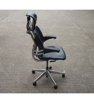 Leather Humanscale Freedom Task Chair