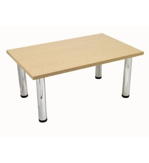 Light Oak Rectangular Coffee Table