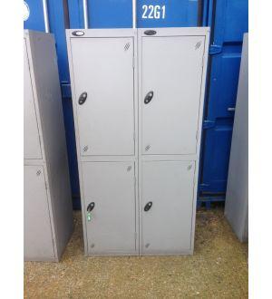 4 Door Locker - Nest of 2