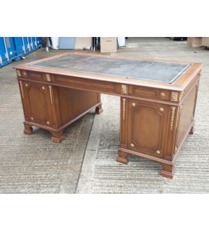 Mahogany Double Pedestal Desk
