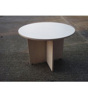 Maple 1000 Dia Panel End Table