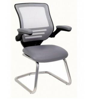 CAP100-C Meeting Room Chair with Chrome Base