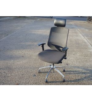 High Back Task Chair, With Head Rest