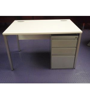 New Desk and Second Hand Pedestal