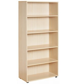 New Maple Open Bookcase