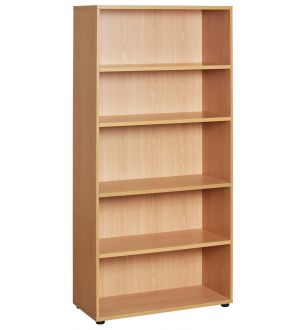 CLM 2095 Beech Open Bookcase