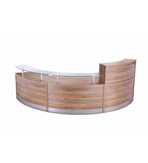 Three Part Reception Desk