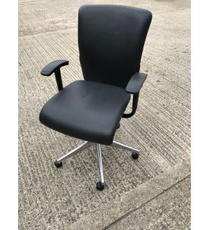 Leather Orangebox Go Operator Chair