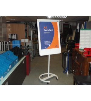 Pedestal Base Whiteboard