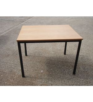 Rectangular Office Table with Adjustable Legs