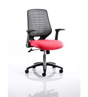 Relay Bespoke Seat Fabric Airmesh Back