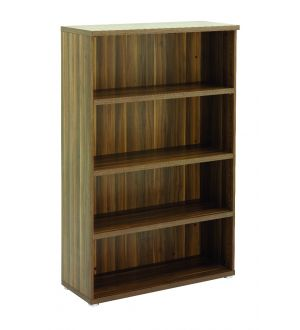 Regent Tall Dark Walnut Open Storage