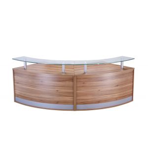 Two Part Reception Desk