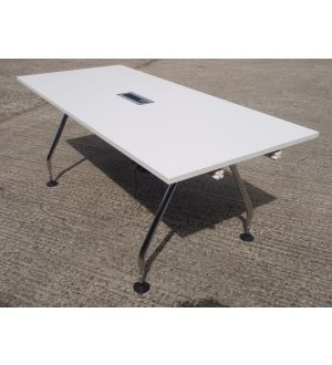 Vitra Cable Managed Meeting Table 1800 x 800