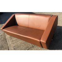 Allermuir Designer Leather Sofa