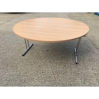 Beech 1500 Diameter Fold Up Table
