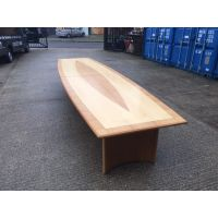 Two Tone Wooden Boardroom Table