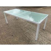 Glazed Glass Rectangular Table