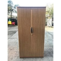 Tall Oak 2 Door Storage Unit