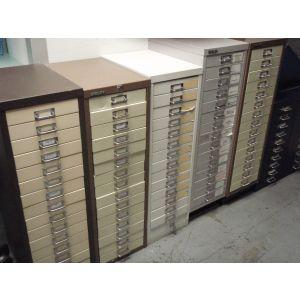 15 Drawer Letter File Units