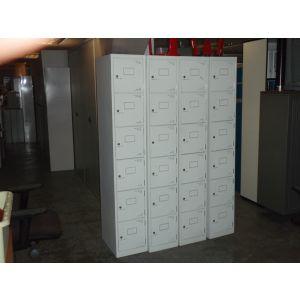 6 Door Single Lockers and Keys