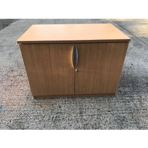 Oak 2 Door Storage Unit