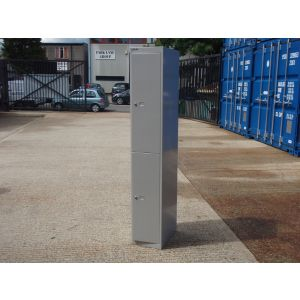 Bisley Grey 2 Door Locker
