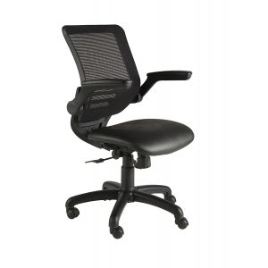 ZP100 Black Base and Mesh Task Chair