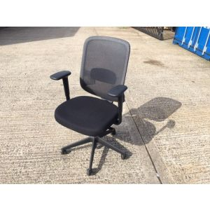Orangebox DO-HBA Black Operator Chair