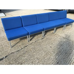 Blue Reception Seating