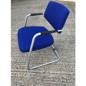 Senator Blue Visitor Chair