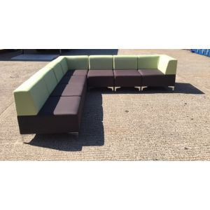 Two Tone Box Seating