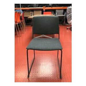 Charcoal Grey Stacking Chair