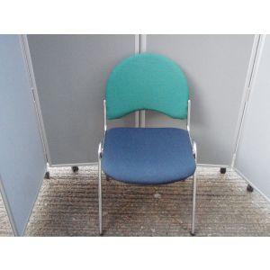 Chrome Framed Stacking Chair