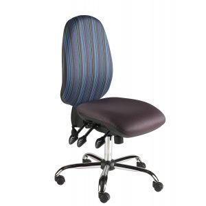 Chrome Task Chairs
