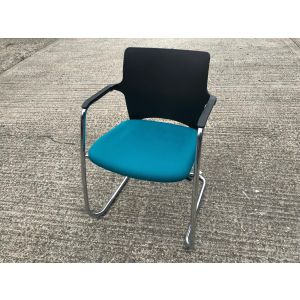 Connection Blue Cantilever Chair