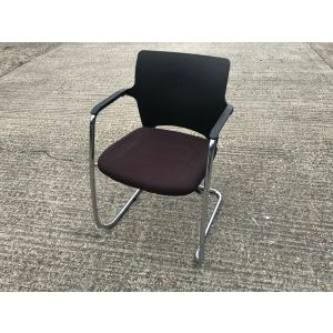 Connection Brown Cantilever Chair