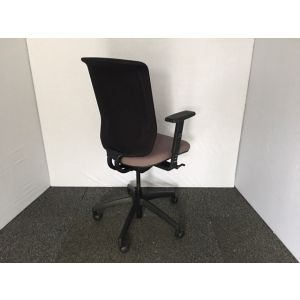 Connection Black & Brown Operator Chair
