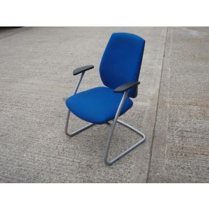 Connection Scuba Blue Meeting Room Chair