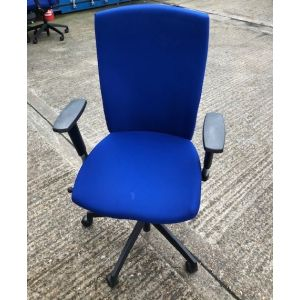 Connection Blue Operator Chair